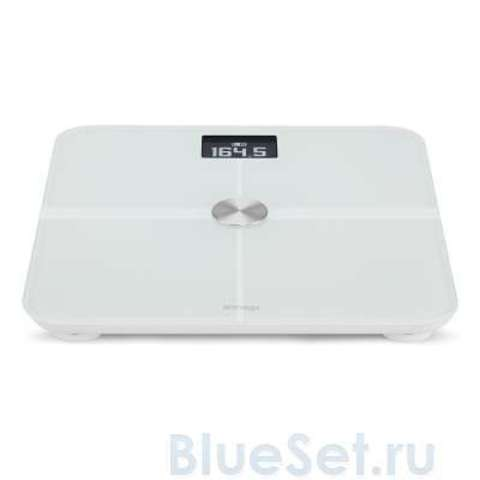 Withings Smart Body Analyzer WS-50 (WH) - умные весы с Wi-Fi для iPhone/iPod/iPad (White)