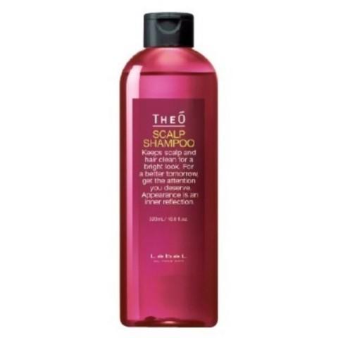 Lebel Theo: Многофункциональный шампунь для мужских волос (Scalp Shampoo), 320мл/600мл/1л