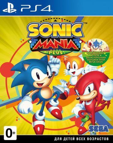 Sonic Mania (PS4, английская версия)