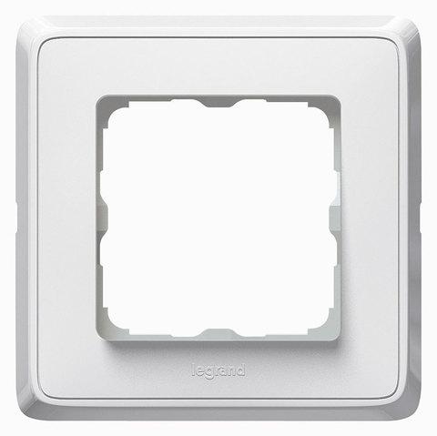 Рамка на 1 пост. Цвет Белый. Legrand Cariva (Легранд Карива). 773660