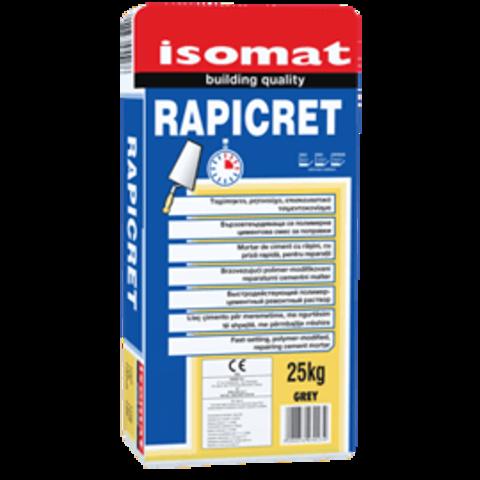 Isomat Rapicret/Изомат Рапикрет быстросхватывающийся ремонтный раствор