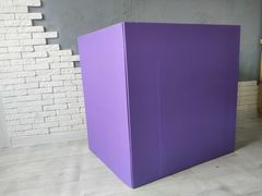 Коробка для шаров (фиолетовая) 60*80*80 см.