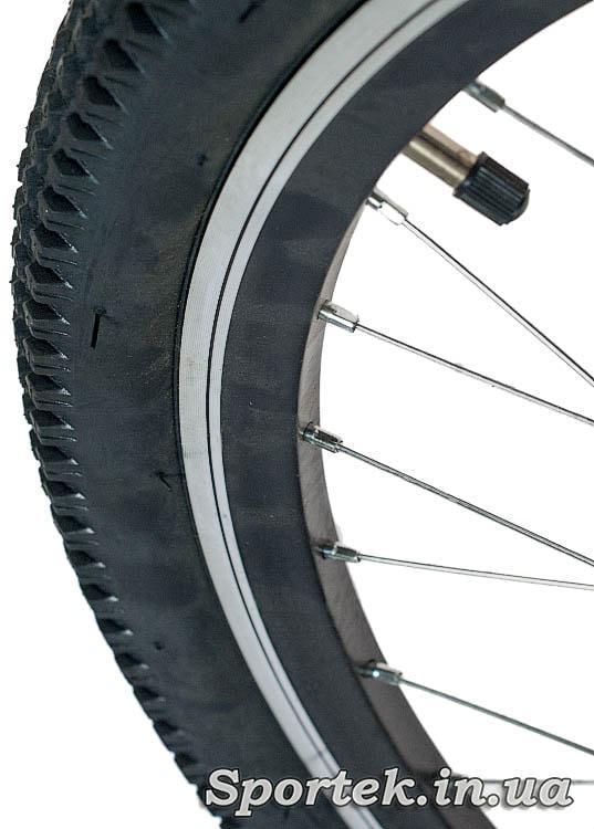 Подвійні алюмінієві високі обода гірського універсального підліткового велосипеда Formula Forest
