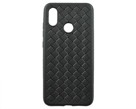 Чехол для Xiaomi Mi8 серия плетение | черный