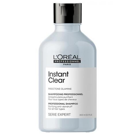 L'Oreal Professionnel Scalp: Шампунь против перхоти для всех типов волос (Instant Clear Shampoo), 300мл