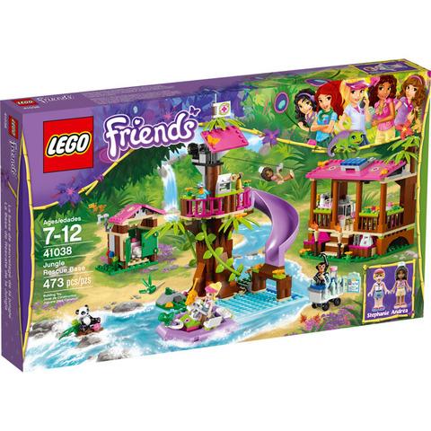 LEGO Friends: Штаб спасателей 41038 — Jungle Rescue Base — Лего Френдз Друзья Подружки