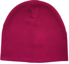 Зимняя короткая шапочка