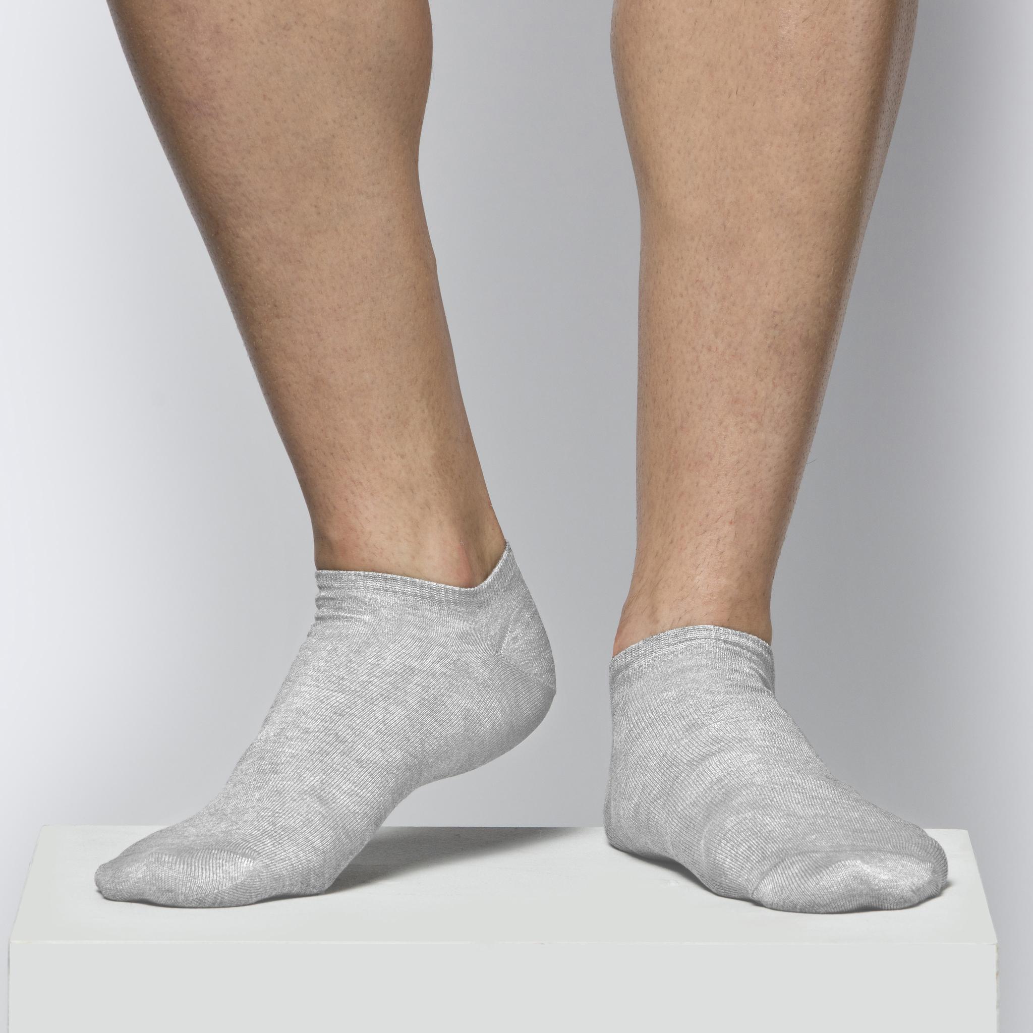 Носок Унисекс короткий MSC-012 Серый меланж