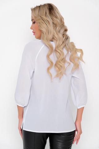 <p>Идеальный вариант на любой случай жизни! Модная рубашка, рукав реглан, 3/4 на резинке. Свободный крой, по переду кружево.</p>