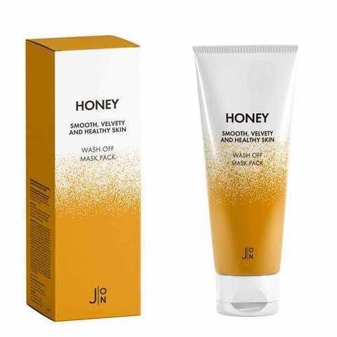 J:on Маска для лица «мед» - Honey wash off mask pack, 50г