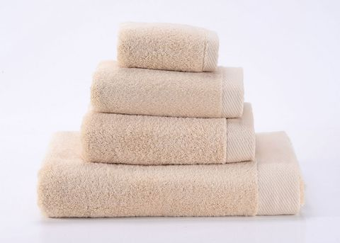Seashells-5 бежевое махровое  полотенце Valtery