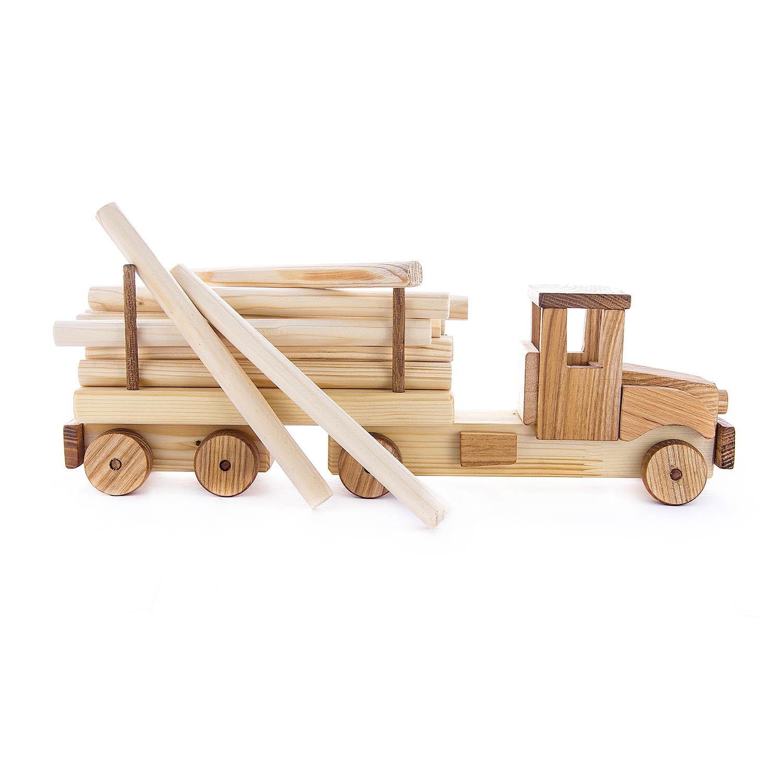 Деревянная машина Лесовоз