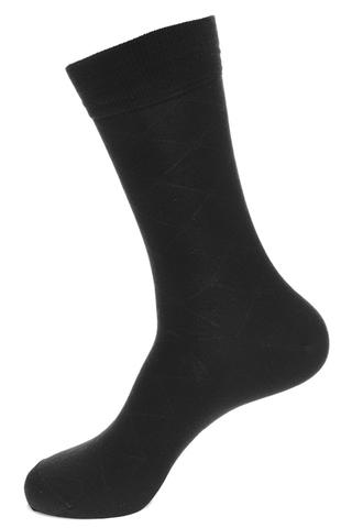Носки мужские  хлопок+микромодал+лайкра,sphr61501 Saphir,(Черные), (3 размера)