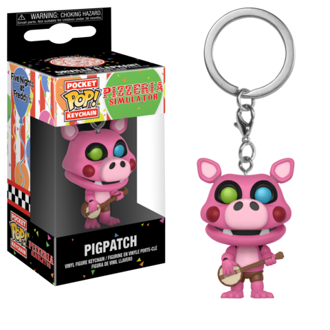 Брелок Свин-Портной || POP! Keychain PigPatch