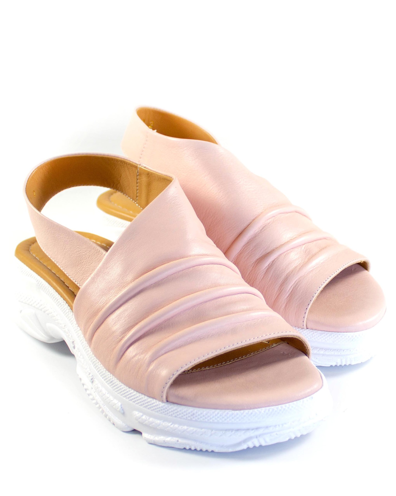 розовые босоножки Mario Muzi