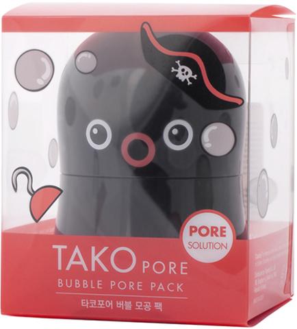 TONY MOLY Маска пузырьковая для проблемной кожи лица Tako Pore Bubble Pore Pack 65 г