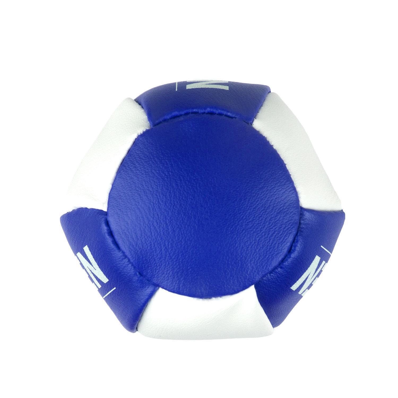 Брелок мини-груша Dozen Light сине-белый вид снизу