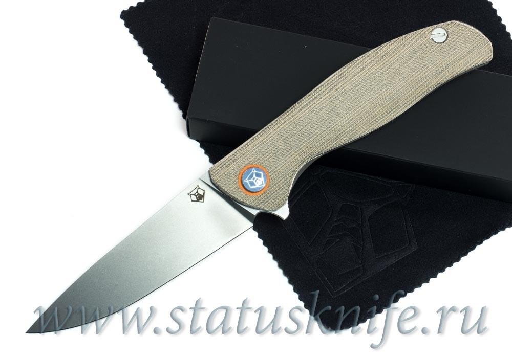 Нож Широгоров Ф3 30 EVO Микарта 3D подшипники
