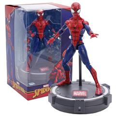 Человек паук фигурка на светящейся подставке