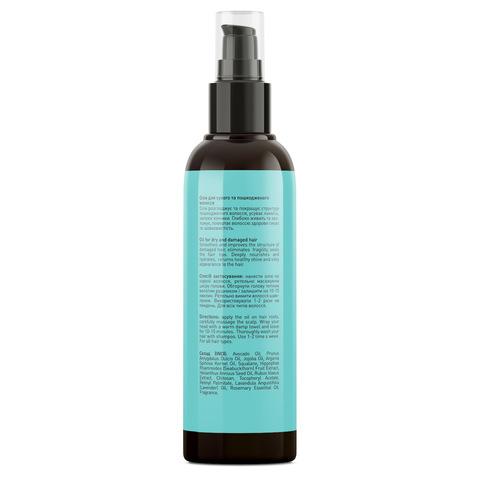Олія для сухого і пошкодженого волосся Hair Reviver Oil Joko Blend 100 мл (3)