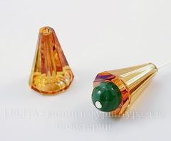 5540 Бусина - конус Сваровски Crystal Astral Pink 17 мм