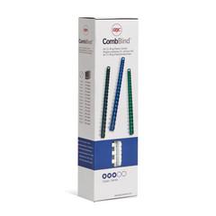 Пружины для переплета пластиковые GBC 10 мм белые (100 штук в упаковке)