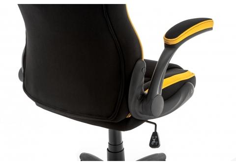 Офисное кресло для персонала и руководителя Компьютерное Plast черный / желтый 68*68*115 Черный / желтый