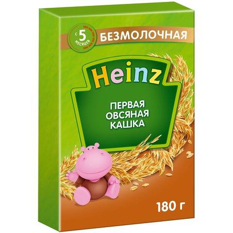 Каша Heinz овсяная 5+ мес