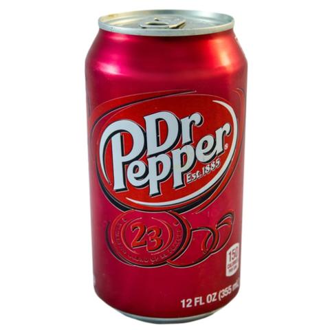 Dr Pepper Classic Доктор Пеппер классический Европа 0,33 л