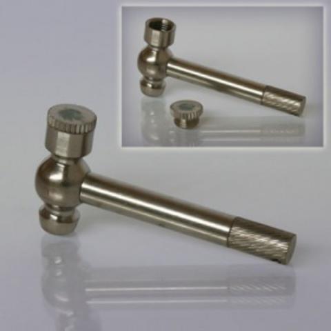 Трубка  курительная трансформер Молоток металл