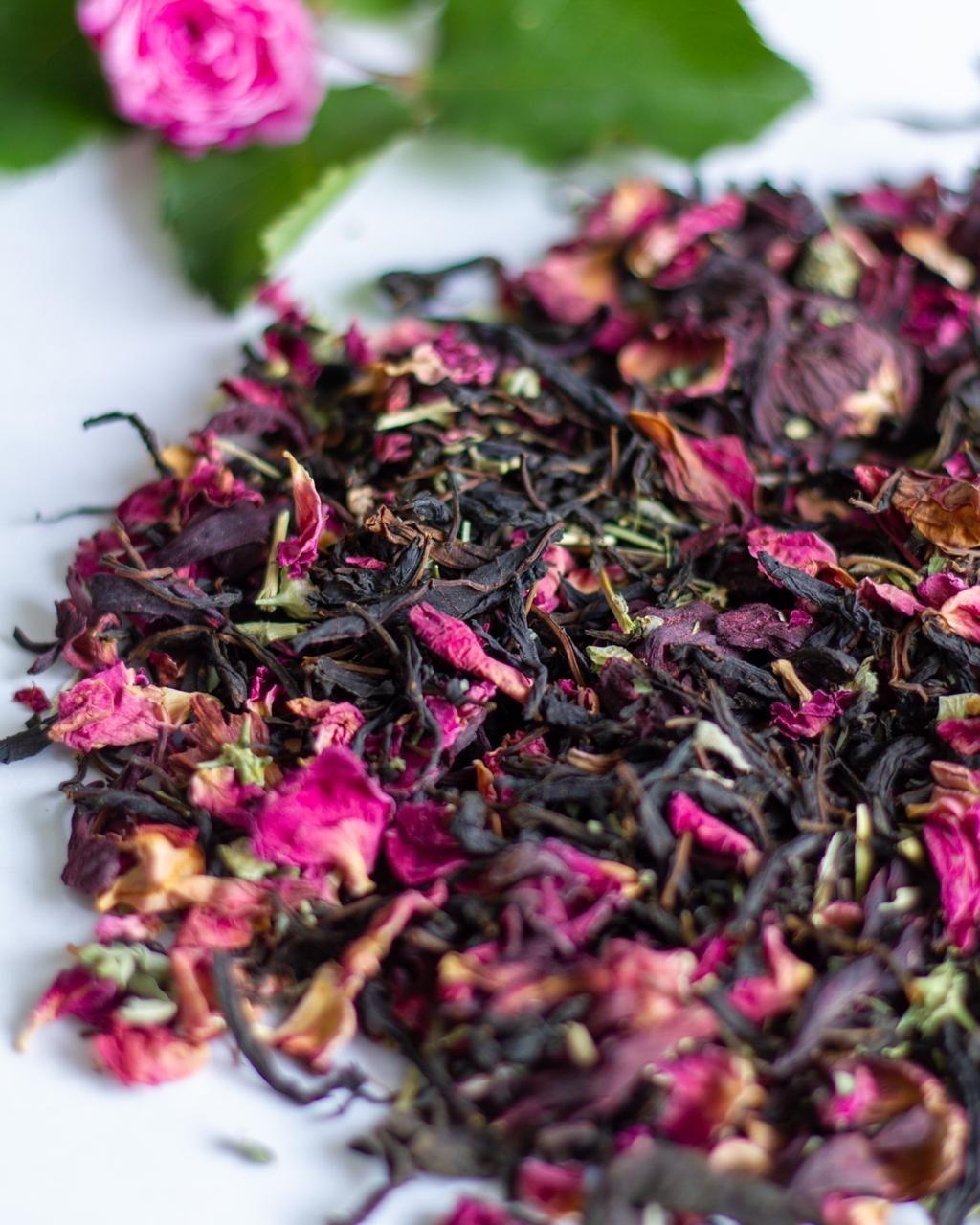 ПРИТЯЖЕНИЕ Травяной чай Контейнер биоразлагаемый крафт 70 грамм