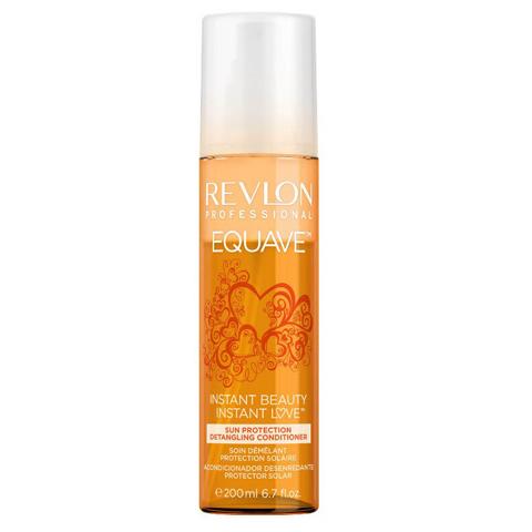 REVLON Equave Instant Beauty: Несмываемый 2-х фазный кондиционер  мгновенного действия для защиты от солнца (Sun Protection Detangling Conditioner), 200мл