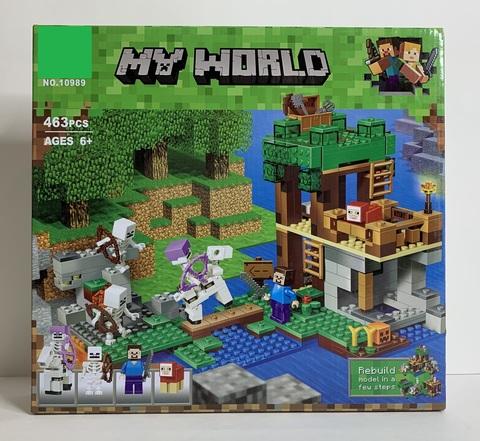 Конструктор My World 10989 Нападение армии скелетов