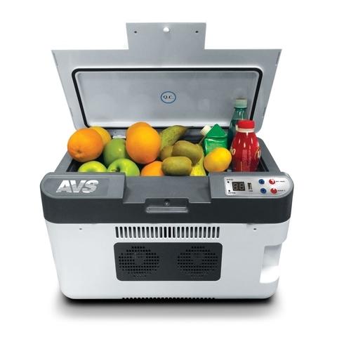Термоэлектрический автохолодильник AVS CC-24WBC (12V/24V/220V, 24л, USB)