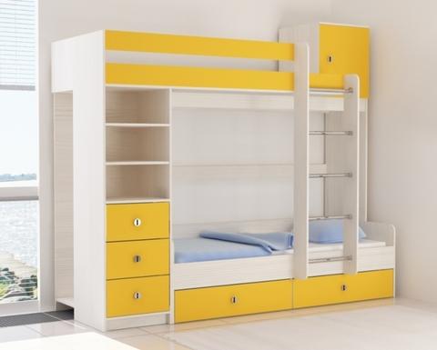Кровать АТАМИ-1900-0800 /2438*2082*993/ правая