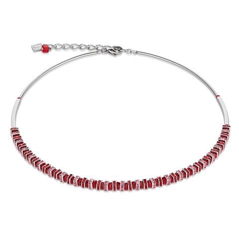 Колье Coeur de Lion 4858/10-0300 цвет красный, розовый