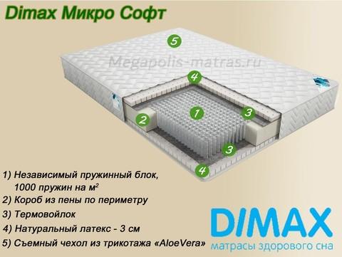 Матрас Димакс Микро Софт от Мегаполис-матрас