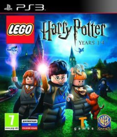 LEGO Harry Potter: Years 1- 4 (PS3, английская версия)