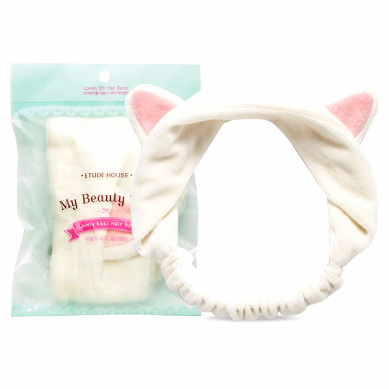 ПОВЯЗКА НА ГОЛОВУ ETUDE HOUSE MY BEAUTY TOOL LOVELY ETTI HAIR BAND