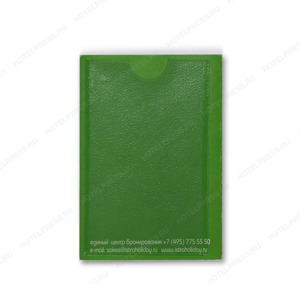 Картхолдер для отеля с пластиковым карманом для карты (кейхолдер)
