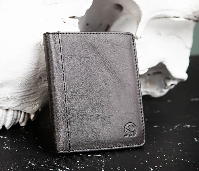 WL292-1 Небольшое мужское портмоне из натуральной кожи