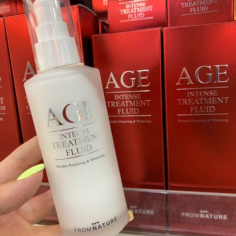 From Nature Age Intense Treatment Fluid.100 мл