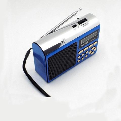 Радиоприемник NS-263TT встроенный аккумулятор MP3/FM/MicroSD/USB (4xAA)
