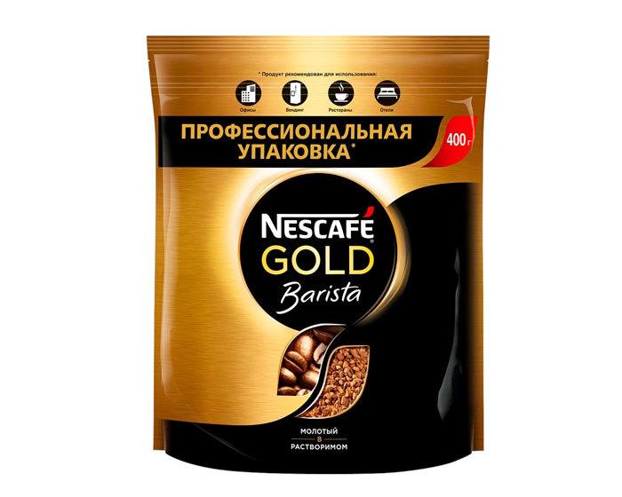 купить Кофе растворимый Nescafe Gold Barista, 400 г