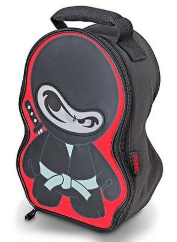 Термосумка детская Thermos Ninja Novelty Lenticular (черная)