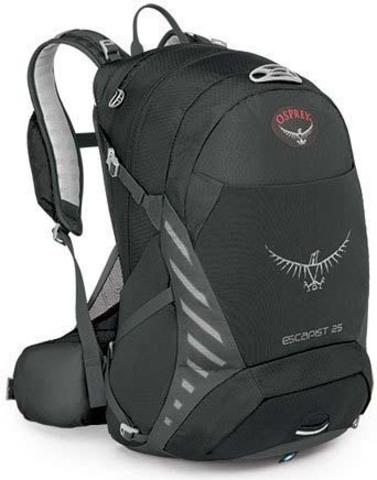Картинка рюкзак велосипедный Osprey Escapist 25 Black - 1