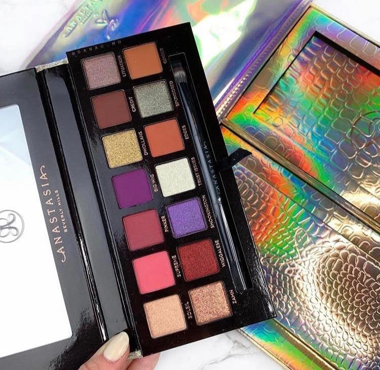 Anastasia Beverly Hills x Jackie Aina palette