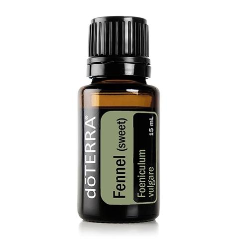 Фенхель (Foeniculum vulgare), эфирное масло, 15 мл / FENNEL (SWEET) ESSENTIAL OIL