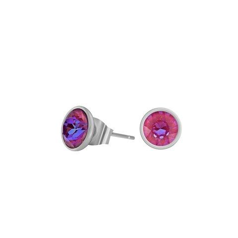Пусеты Lotus Pink Delite SWE298 LPD S