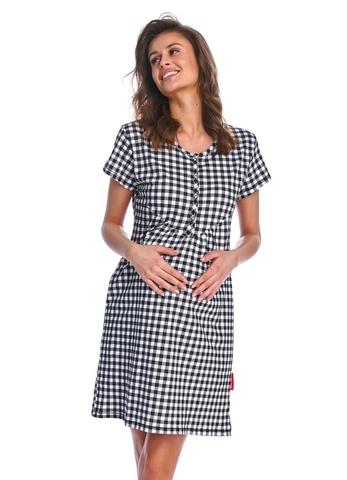 Ночная сорочка женская в клетку DOCTOR NAP (9939 TCB)